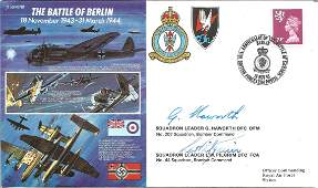 The Battle of Berlin official double signed Royal Air