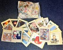Worldwide Stamp collection 24 sets of UK PHQ cards plus