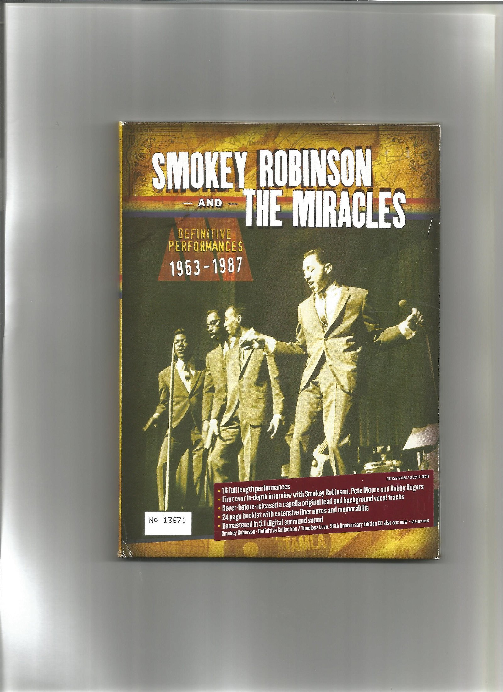 Smokey Robinson and the Miracles definitive