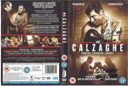 Joe and Enzo Calzaghe signed DVD insert of Mr Calzaghe
