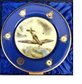 World War Two RAF Royal Worcester commemorative plate