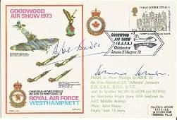 Grp Capt Sir Douglas Bader DSO DFC AVM Johnnie Johnson