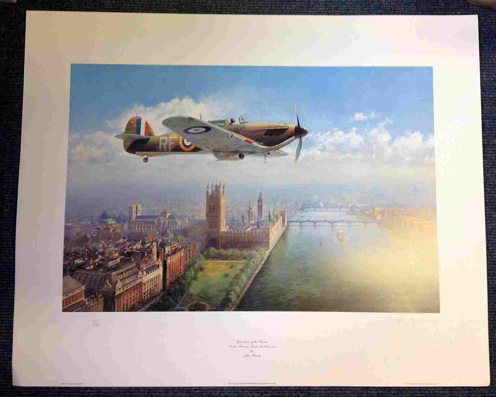 World War Two print 30x24 titled Guardian of the Realm