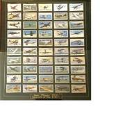 RAF collection 19x21 framed and mounted cigarette card