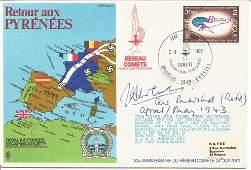AVM John Curtiss signed WW2 RAF cover. Retour Aux
