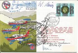 WW2 Luftwaffe, US aces Buchner, Alhurin, Spate signed