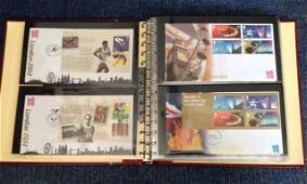 2012 London Olympics FDC collection in Red Album
