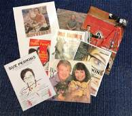 Comedy signed collection. 8 items, assorted flyers and