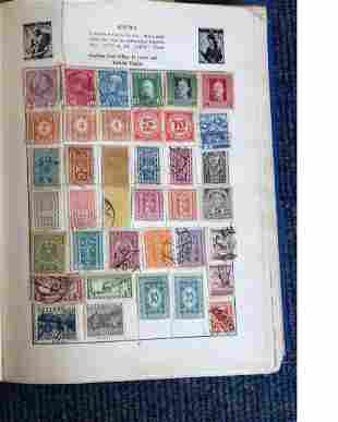 Pelam Junior Stamp Album with Worldwide collection of