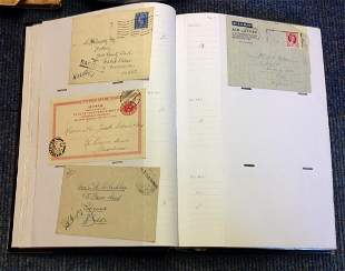 Worldwide Postal History collection, over 100 items