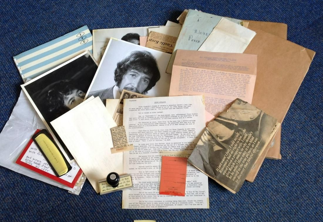 Peter Wyngard collection of memorabilia Collected by