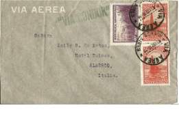 1938 Zeppelin Via Condor air mail cover to Italy with