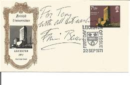 Francis Bacon signed British Universities FDC. 22, 9,