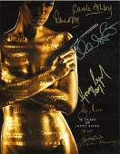 Multi signed 50 years of James Bond 14x11 colour photo