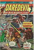 Stan Lee signed Daredevil comic Signed on front cover