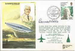 Sir Barnes Wallis signed HA6 RAF cover No 566 of 1250