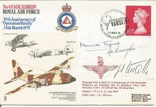 WW2 aces Luftwaffe Franz Woidich and US Dan Cunningham
