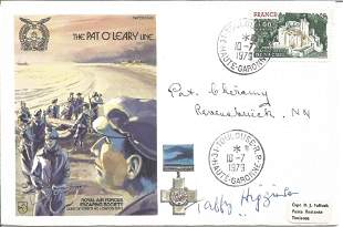 The Pat OLeary Line signed RAF cover No 482 of 1060