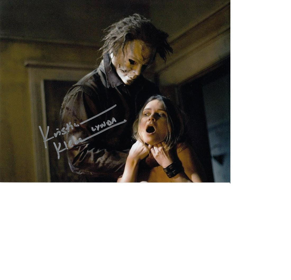 Kristina Klebe Halloween hand signed 10x8 photo. This