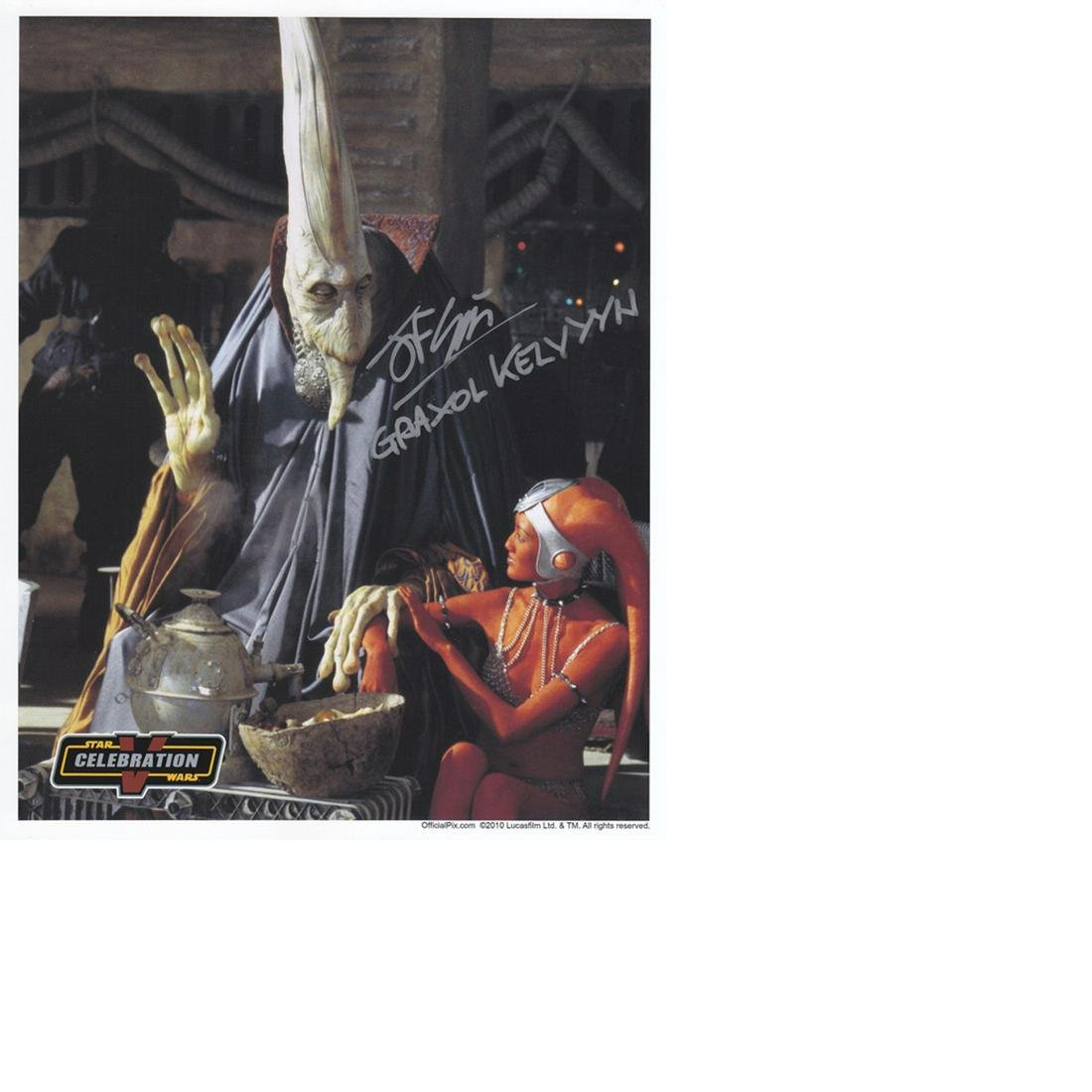 John Coppinger Star Wars hand signed 10x8 photo. This