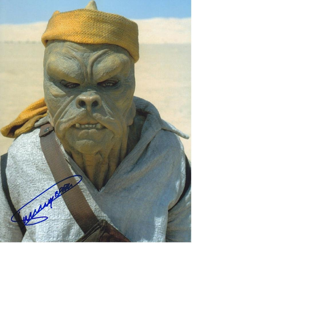 Dickey Beer Star Wars hand signed 10x8 photo. This