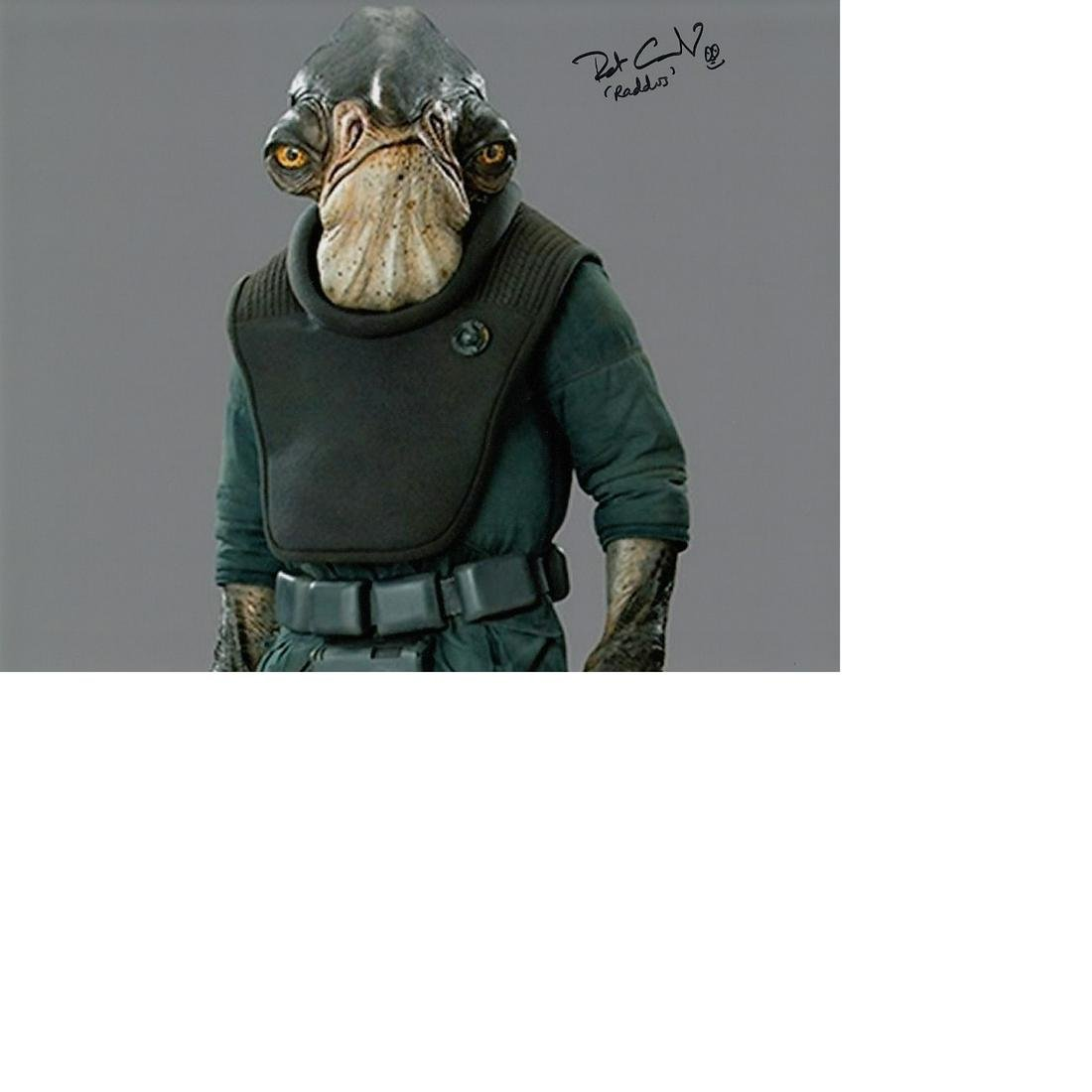 Patrick Comerford Star Wars hand signed 10x8 photo.