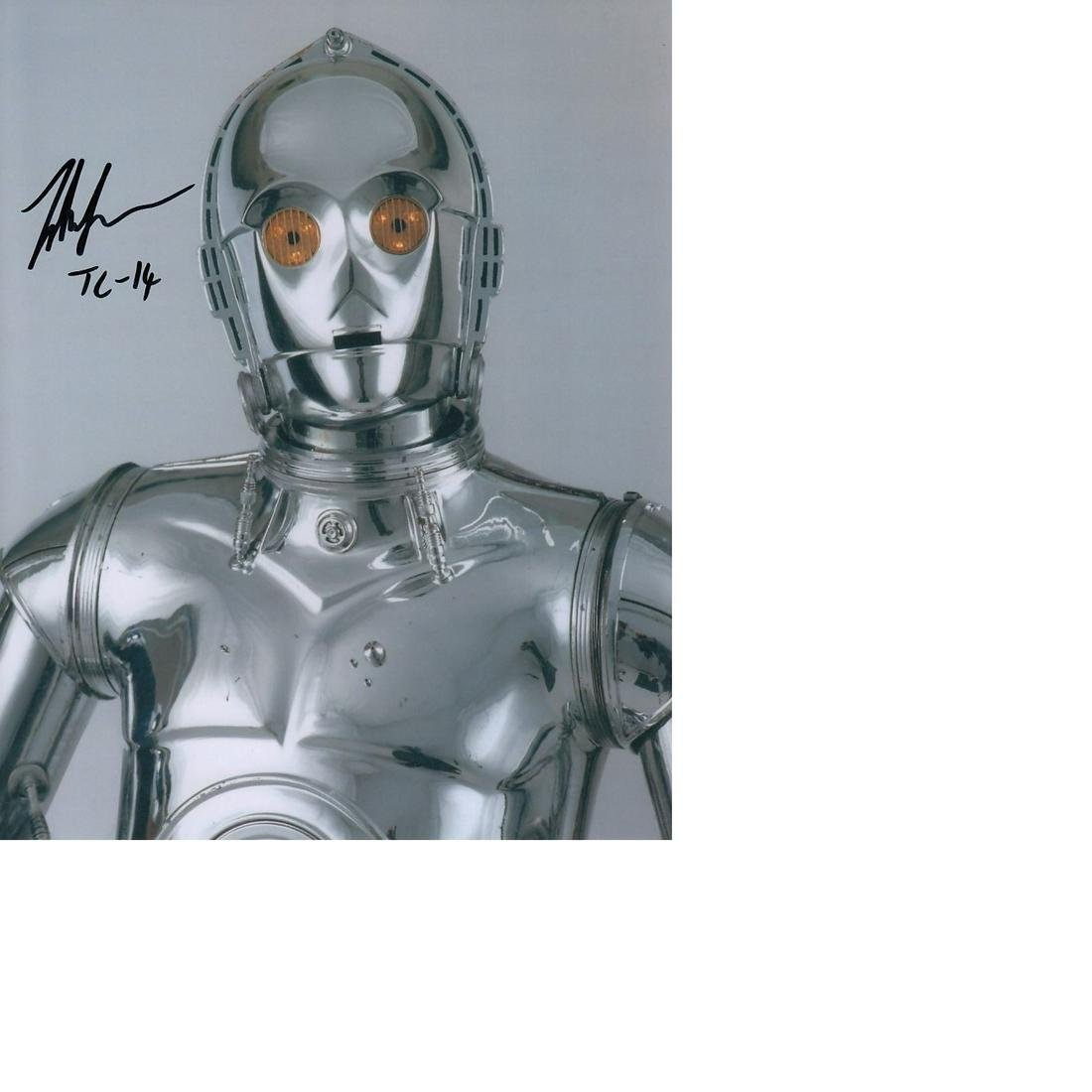 John Fensom Star Wars hand signed 10x8 photo. This