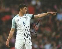 Michael Keane Signed Everton & England 8x10 Photo. Good