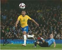 Richarlison Signed Everton & Brazil 8x10 Photo. Good
