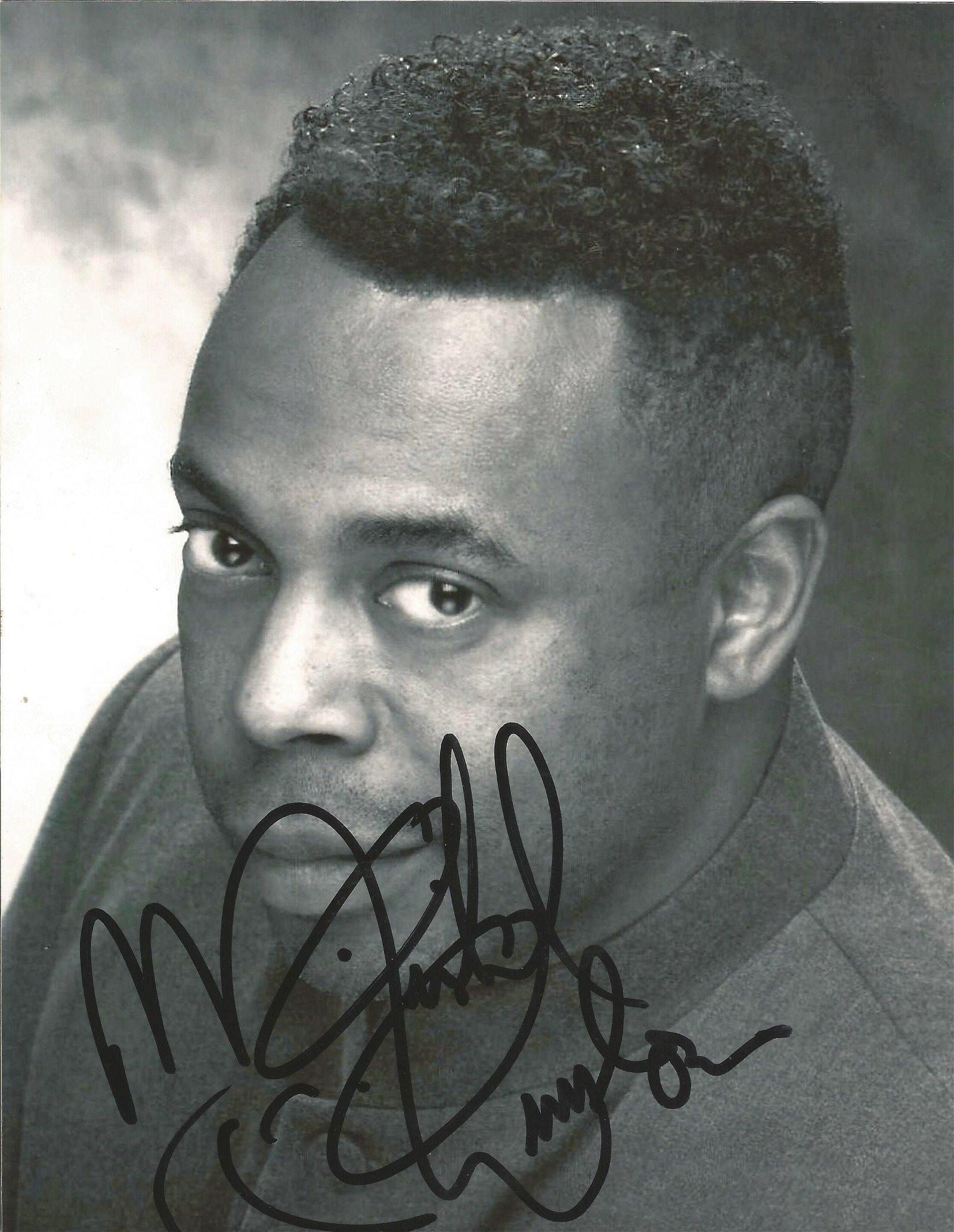 Michael Winslow signed 10 x 8 colour Photoshoot