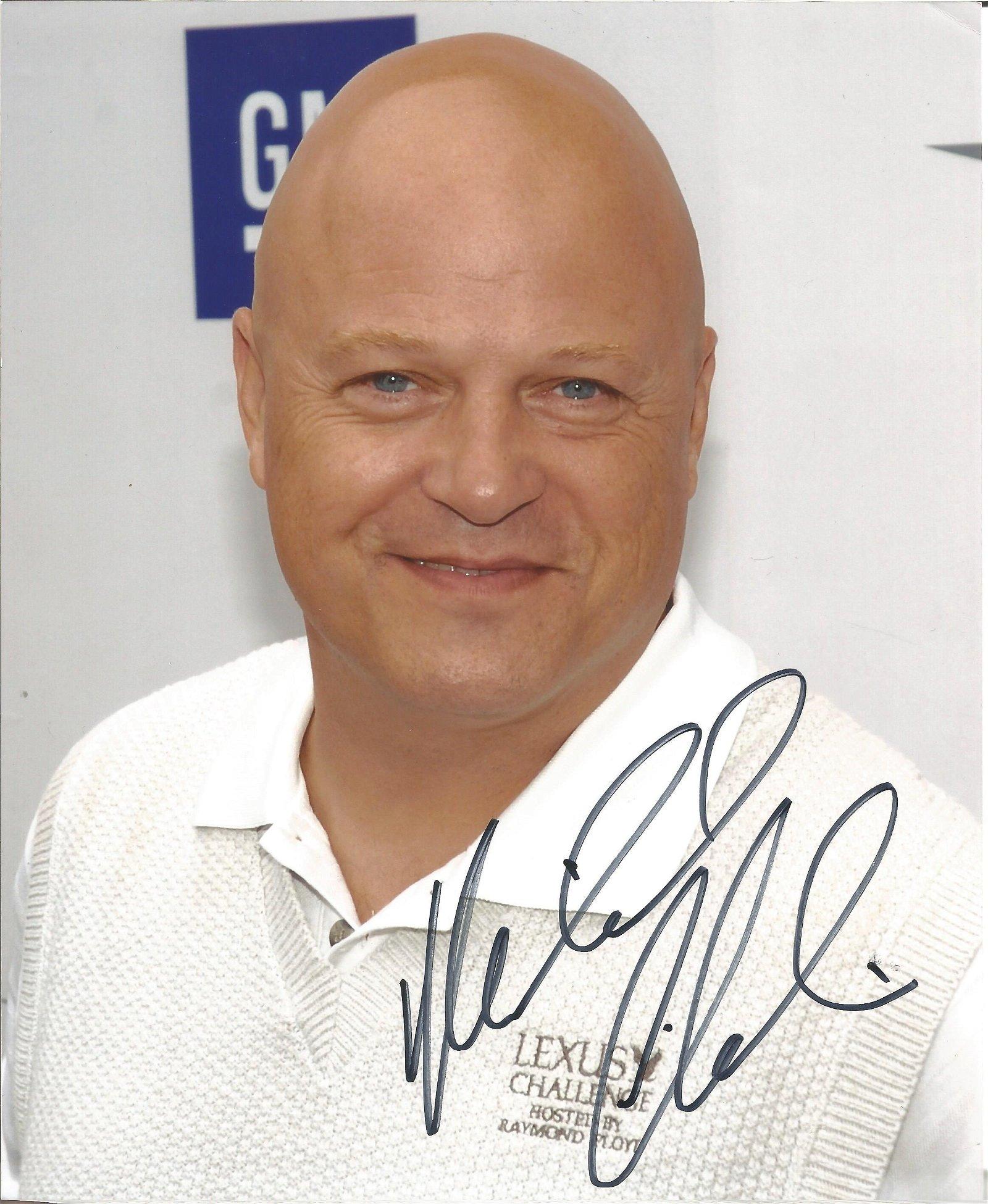 Michael Chiklis signed 10 x 8 colour Photoshoot