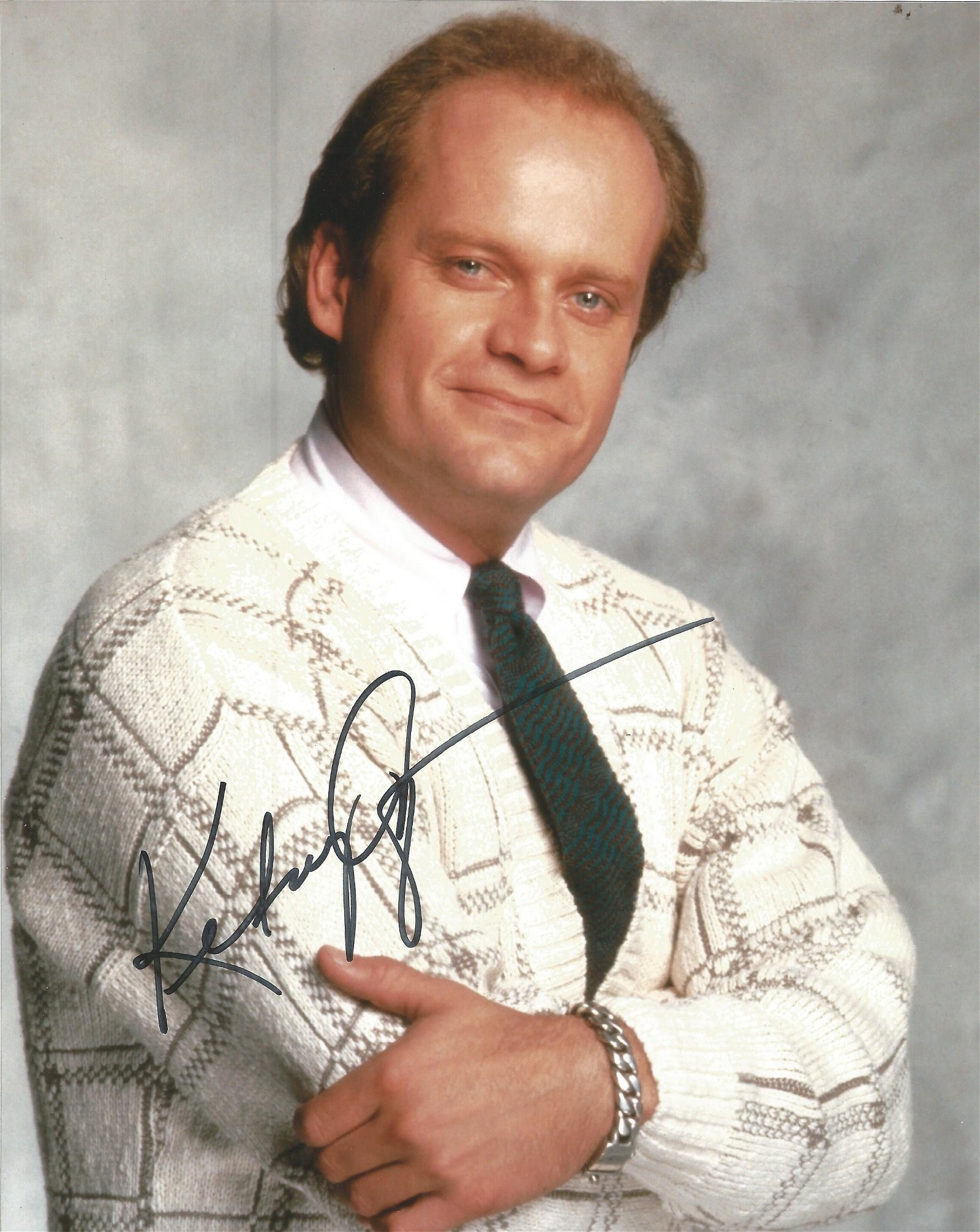 Kelsey Grammer signed 10x8 colour photo. Good