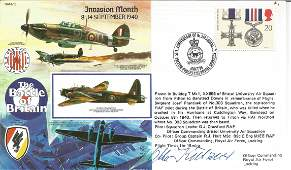 WW2 Luftwaffe Battle of Britain pilot Otto Kutzner