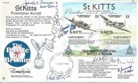 WW2 Battle of Britain pilots John Barnes 600 sqn, Frank