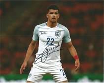 Football Dominic Solanke Signed England 8x10 Photo.