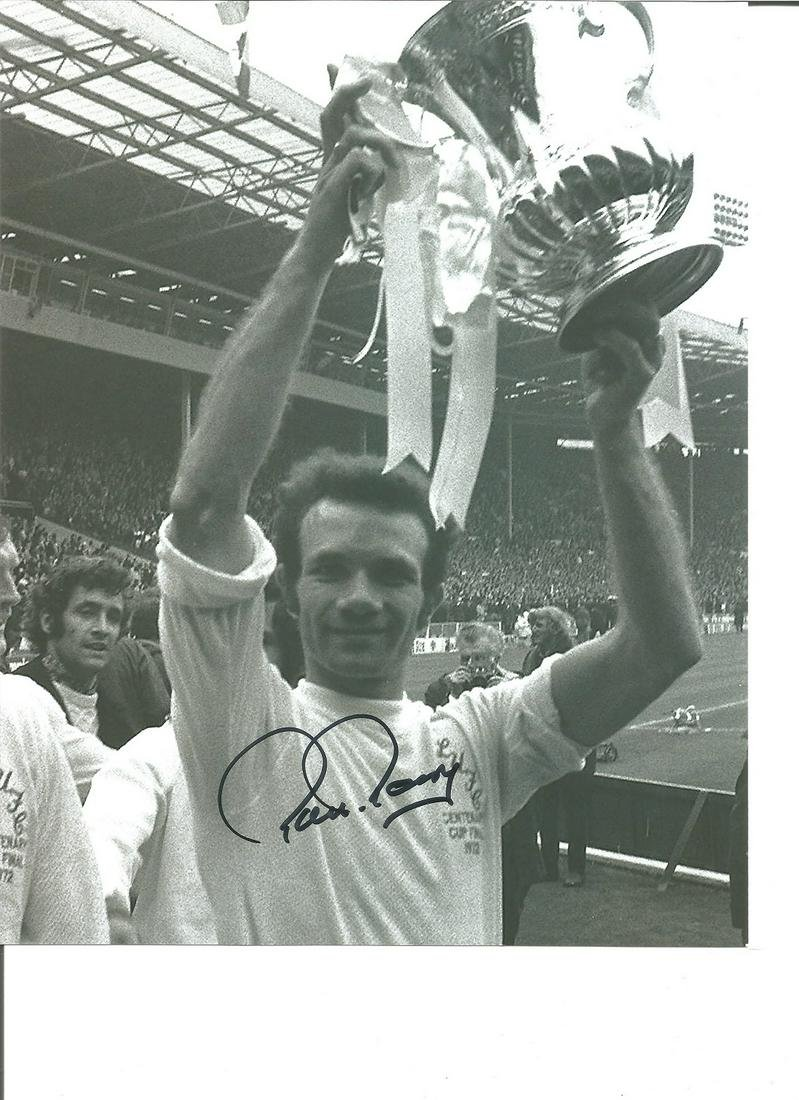 Paul Reaney 10x8 Signed B/W Football Photo Picture