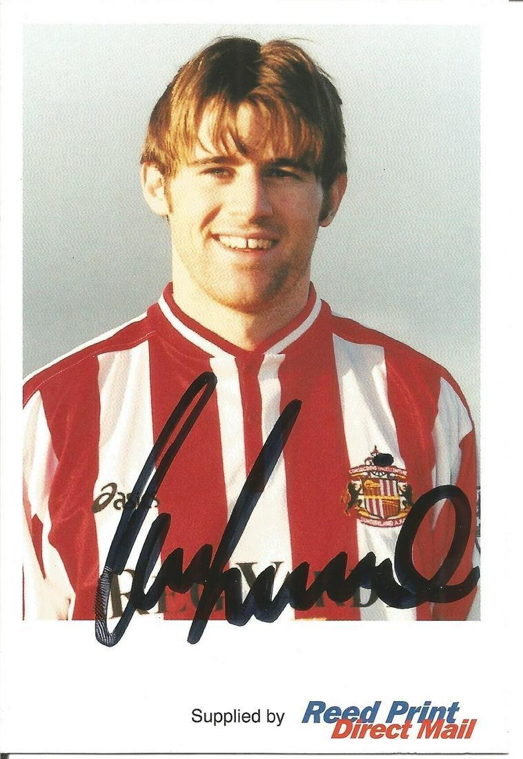 Kevin Kilbane signed 6x4 colour photo in Sunderland
