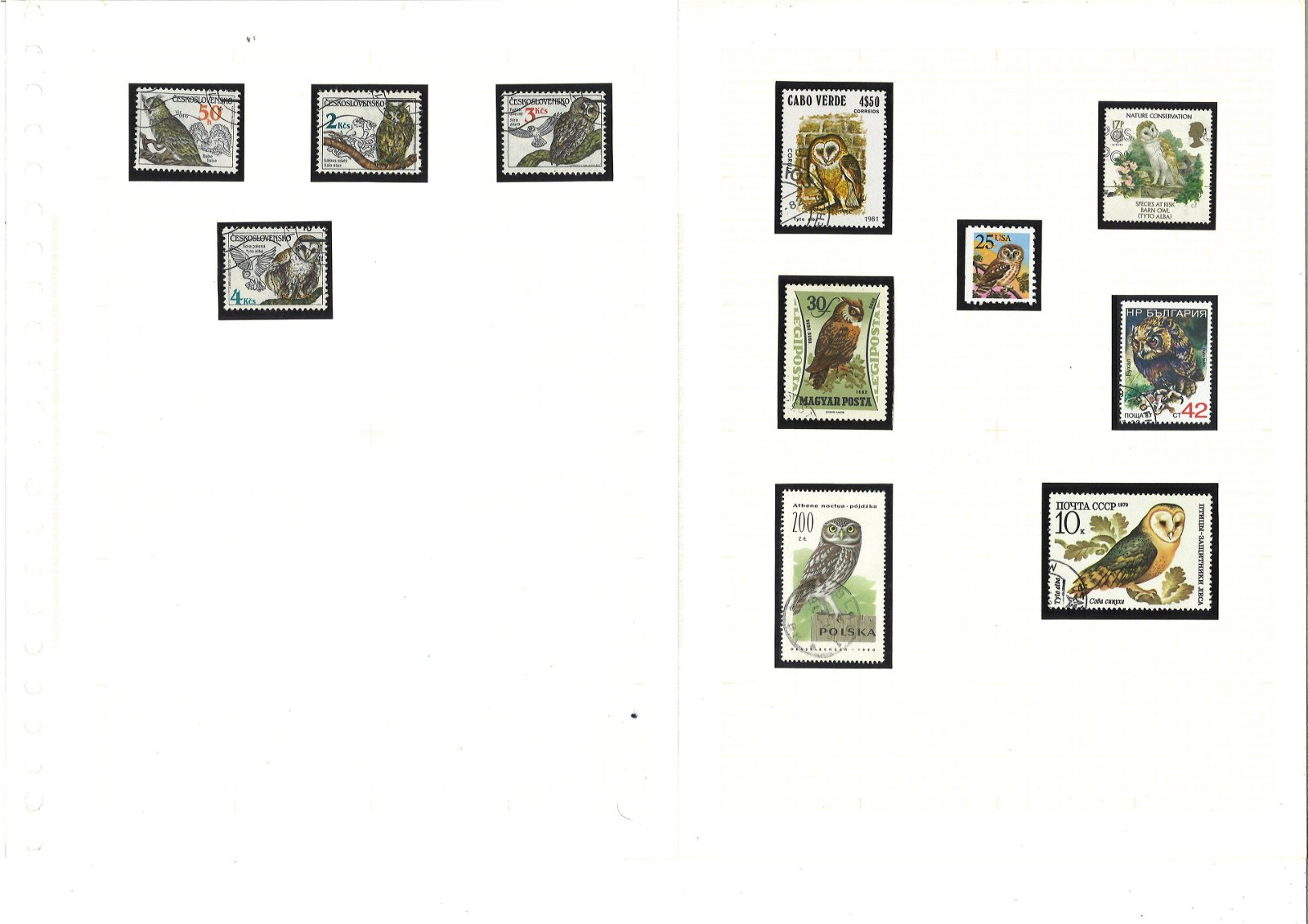 Collection of thematic stamps in album. 80+ stamps.