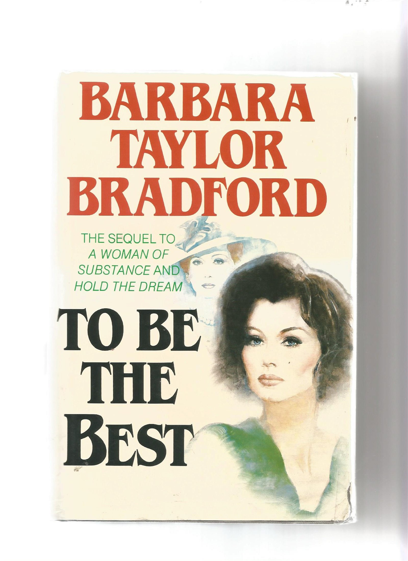 Barbara Taylor Bradford signed first edition of To be
