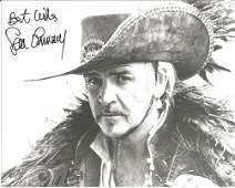 Sir Sean Connery signed 10x8 bw photo pictured in