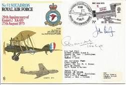 John Cunningham DSO DFC top nightfighter ace WW2 signed