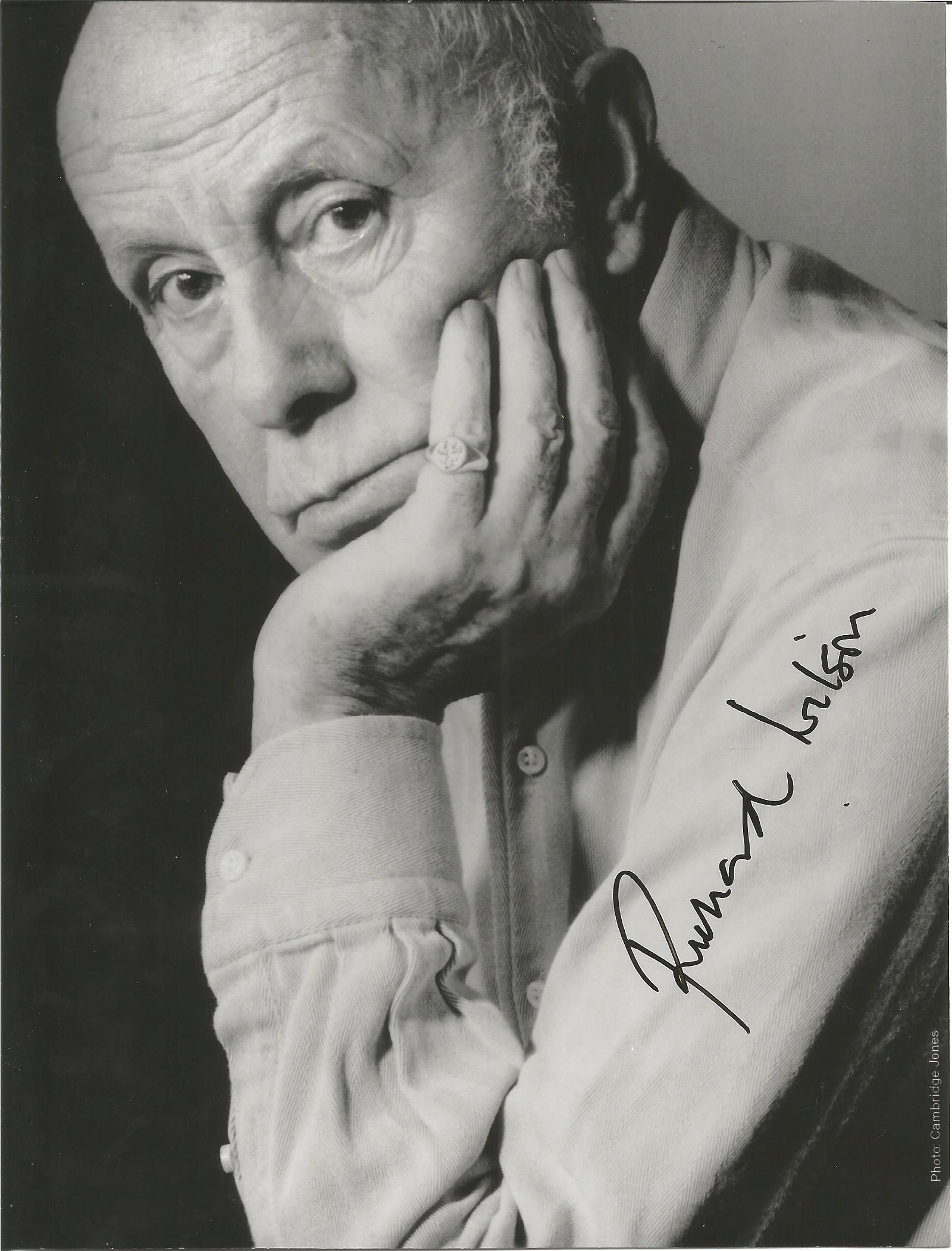 Richard Wilson Actor Signed One Foot In The Grave