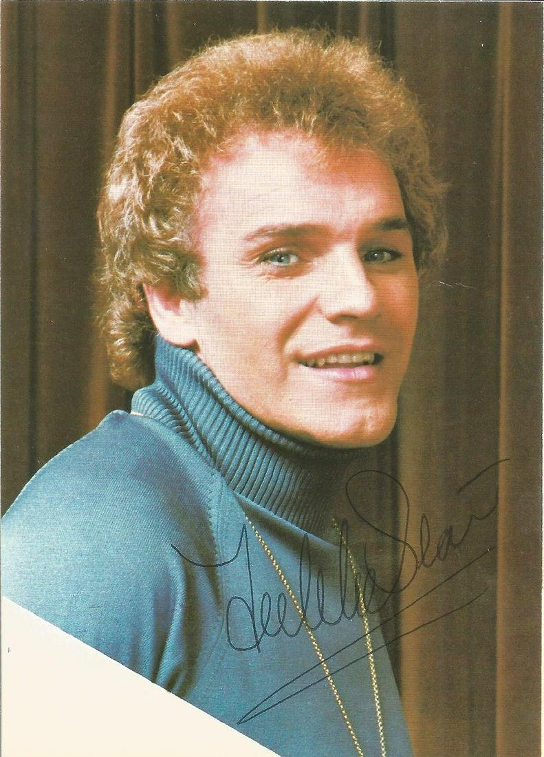 Freddie Starr signed 6x4 colour photo. 9 January 1943 -