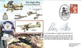 Air Cdr Alan Deere DSO DFC AFC WW2 BOB pilot signed