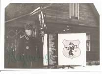 WW2 Luftwaffe ace Fritz Tegtmeier signed 5x3 black and
