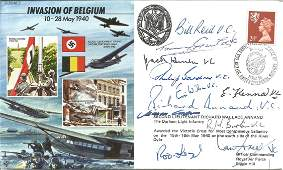 11 VC winners signed Invasion of Belgium Joint Services