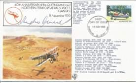 Air Cdre Sir Hughie Edwards VC DSO DFC signed 60th ann