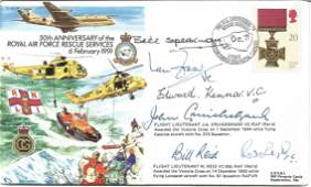 Six Victoria Cross winners signed RAF Rescue Services