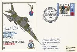 Leonard Cheshire VC signed 1972 RAF Colerne Jaguar