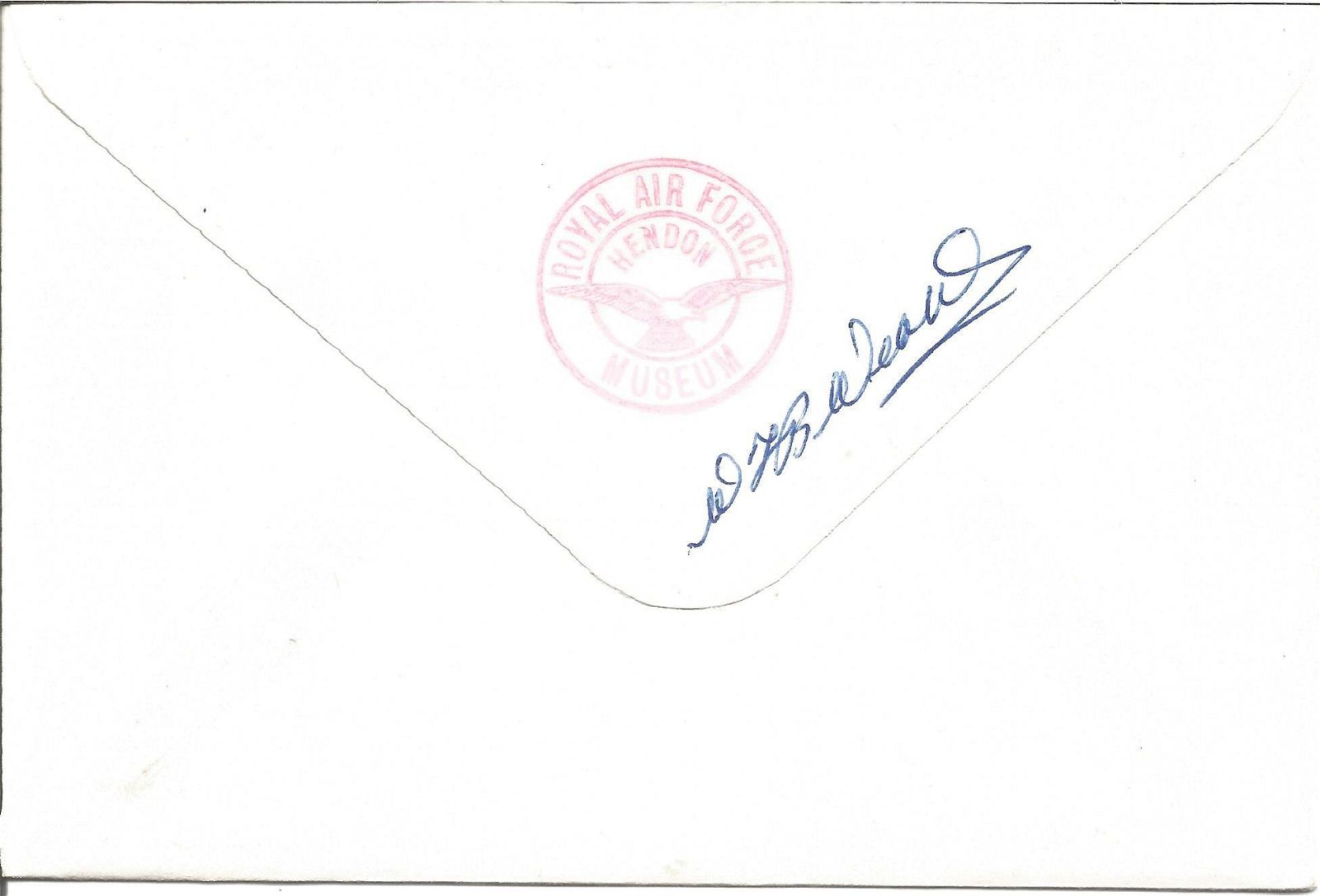 The Pat O'Leary Line signed RAF cover. Flown in